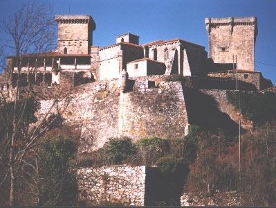 Castle at Monterrei