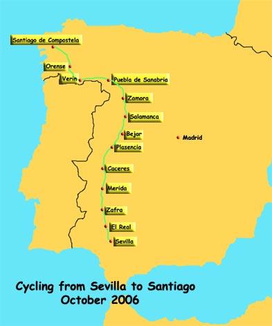 Via de la Plata the Camino to Santiago de Compostela